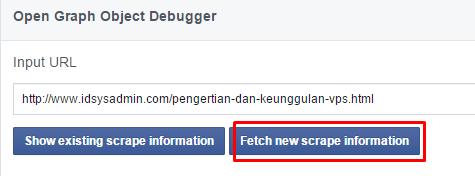 fetch gambar facebook