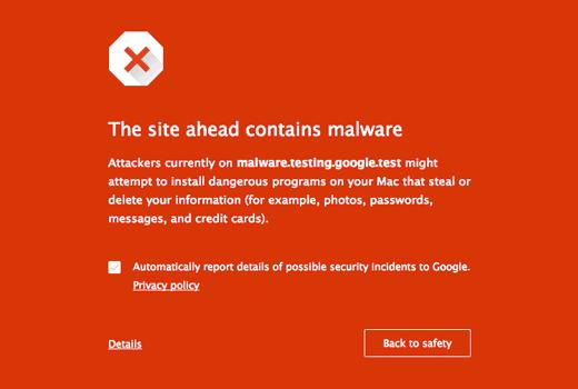 malware browser