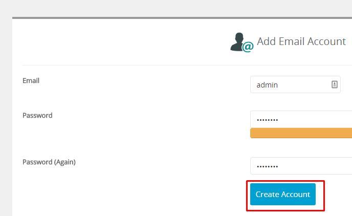 Membuat akun email di webuzo