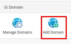 cara addon domain webuzo