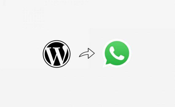 cara menambahkan whatsapp wordpress